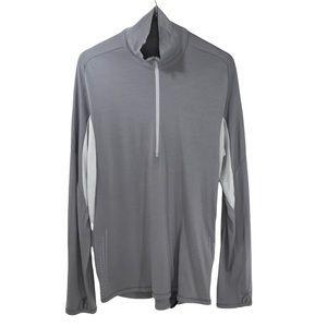Icebreaker 190 1/2-Zip Merino Wool Shirt Top Base Layer Zip Outdoor Warm Hiking